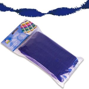 Crêpeslinger donkerblauw
