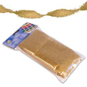 Crêpeslinger goud