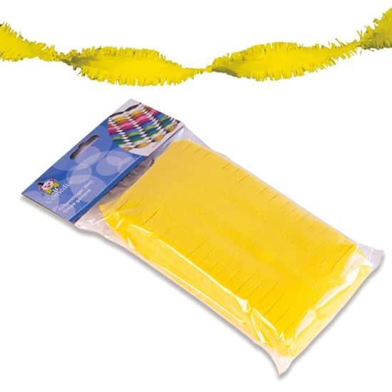 Crêpeslinger neon geel