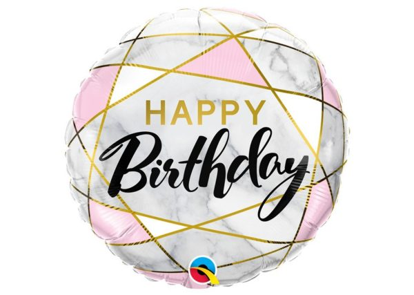 Happy Birthday Folie Ballon