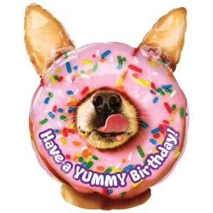 Folieballon – Yummy Birthday – 45 cm – Anagram