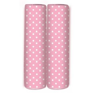 Serpentine - Polka Dots - Bubblegum Pink
