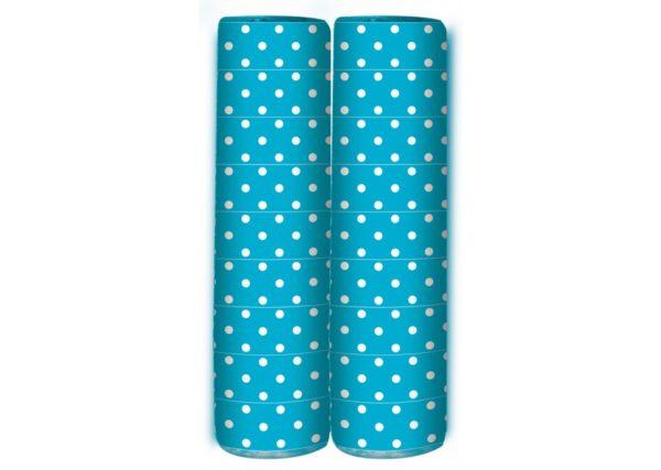 Serpentine - Polka Dots - Caribbean Blue