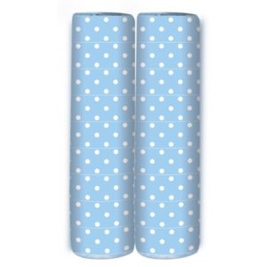 Serpentine – Polka Dots – Light Blue – 4m