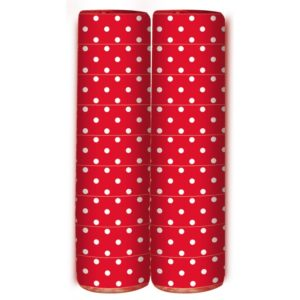 Serpentine – Polka Dots – Red