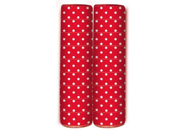 Serpentine - Polka Dots - Red