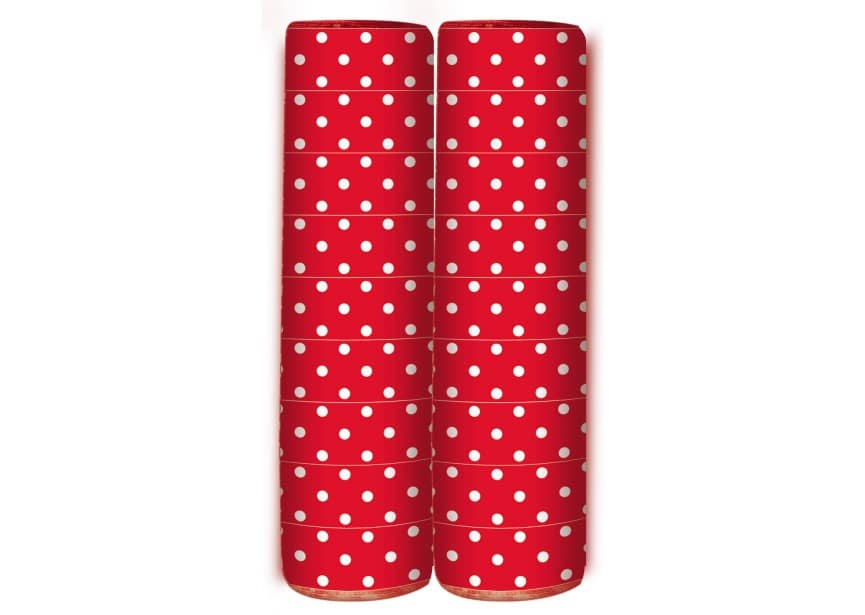 Serpentine - Polka Dots - Red