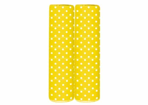 Serpentine - Polka Dots - Yellow