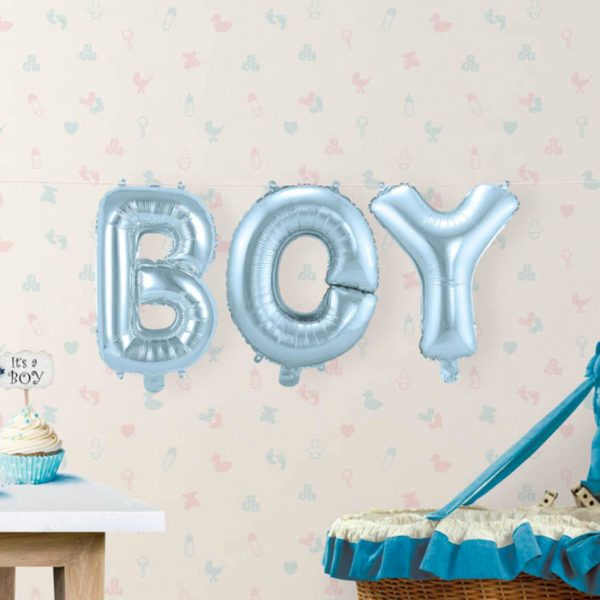Boy babyshower ballon