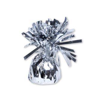 Ballongewicht folie zilver (180gr)
