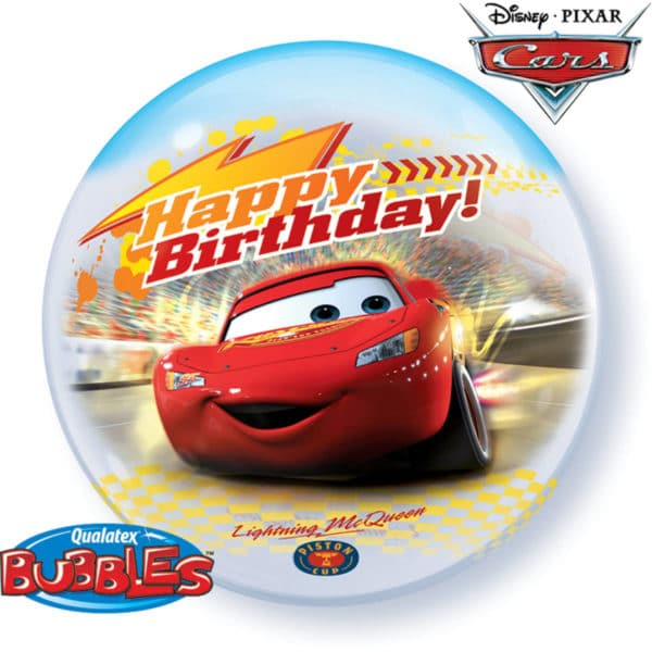 Cars Happy Birthday Ballon 56cm