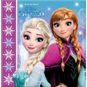 Disney Frozen Servetten Lights 33x33cm – 20 stuks