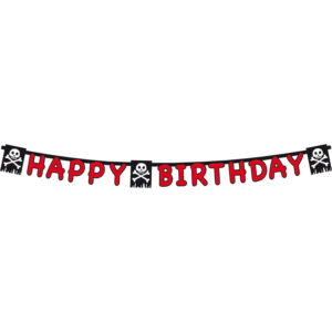 Letterslinger Piraten Happy Birthday – 1.65 meter