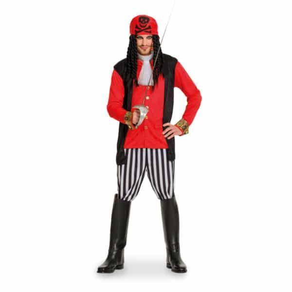Piraten Kostuum Heren 5-delig Maat M-L