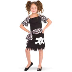 Piraten meisje jurk – maat S