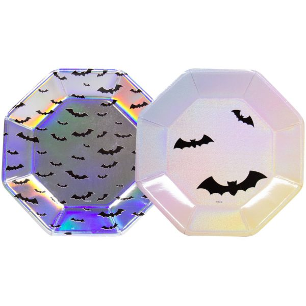 Borden Halloween Pastel 23cm - 6 stuks