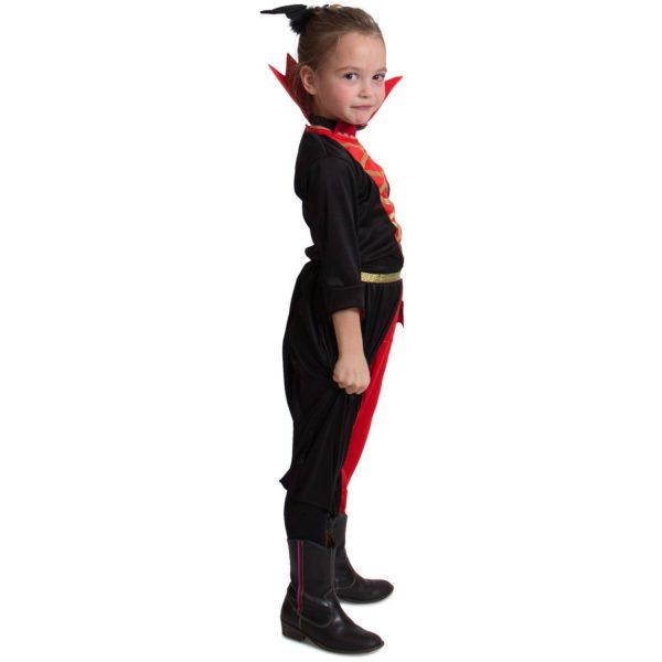 Zwarte Vampieren Jurk Meisjes 116-134 2