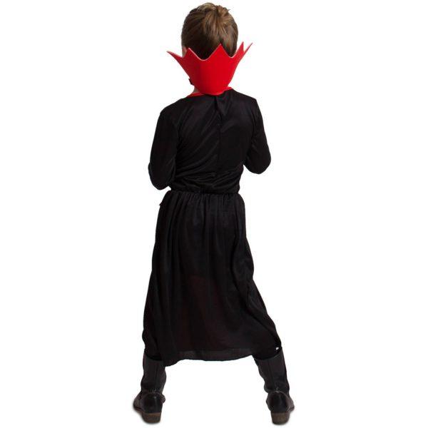 Zwarte Vampieren Jurk Meisjes 116-134 4